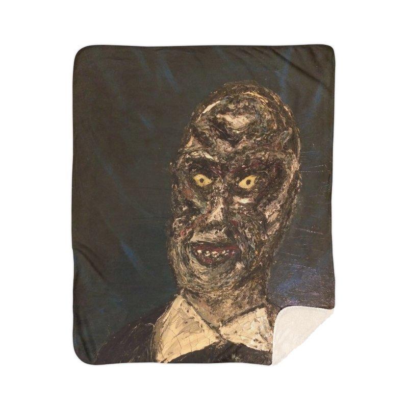 The Gentlemen Home Blanket by skullivan's Artist Shop