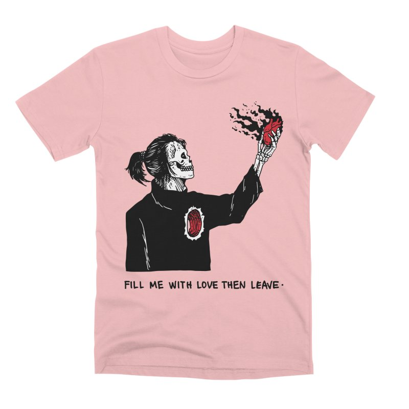 That's How You Kill A Man Like Me Men's Premium T-Shirt by skullpel illustrations's Artist Shop