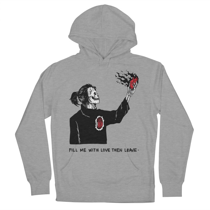 That's How You Kill A Man Like Me Men's French Terry Pullover Hoody by skullpel illustrations's Artist Shop