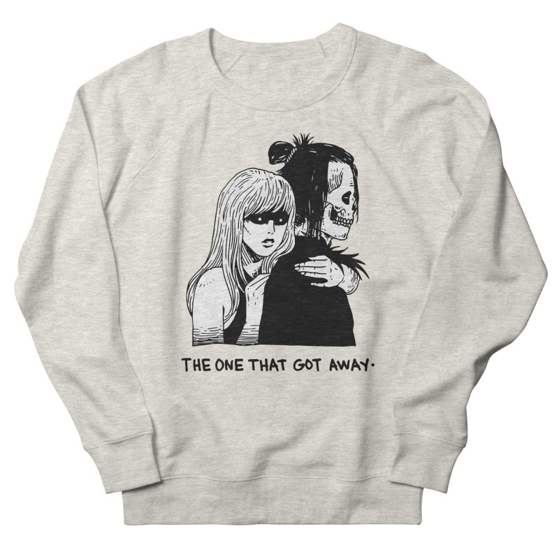 The One That Got Away Women's French Terry Sweatshirt by skullpel illustrations's Artist Shop