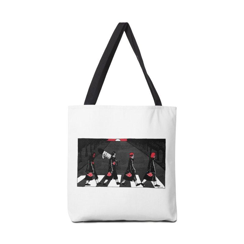 Akatsuki Crossing Abbey Road (Artprints Only) Accessories Tote Bag Bag by skullpel illustrations's Artist Shop