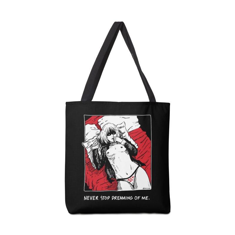 Never Stop Dreaming of Me Accessories Tote Bag Bag by skullpel illustrations's Artist Shop