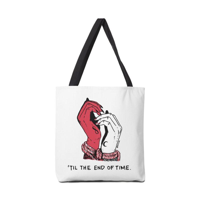 Til The End Of Time Accessories Tote Bag Bag by skullpel illustrations's Artist Shop