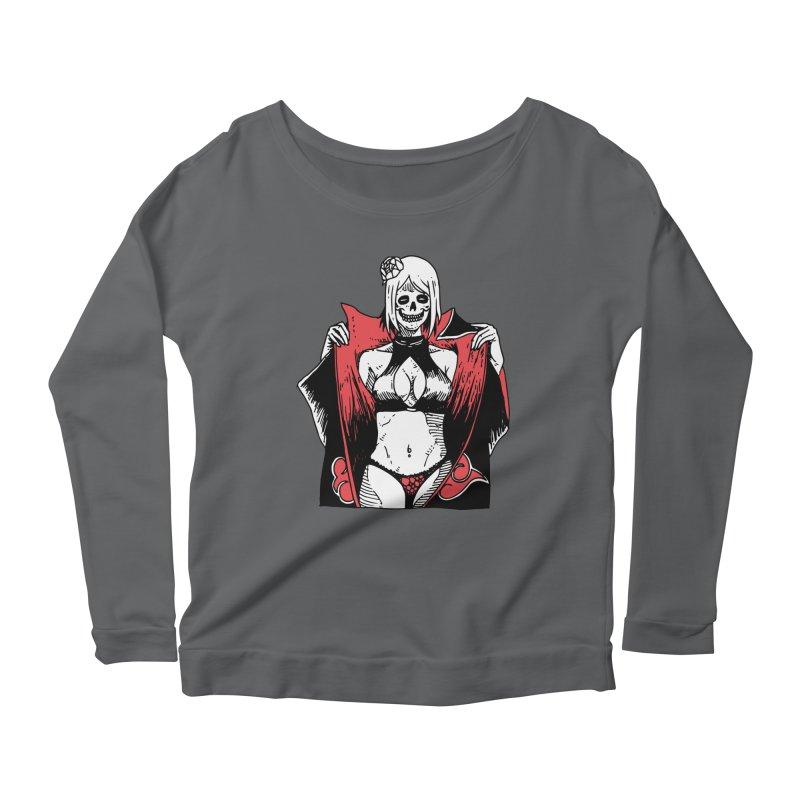 Sexy No Jutsu Konan Women's Scoop Neck Longsleeve T-Shirt by skullpel illustrations's Artist Shop