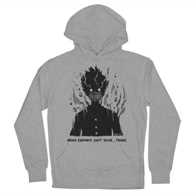 Level Frenzy: Mob Men's French Terry Pullover Hoody by skullpel illustrations's Artist Shop