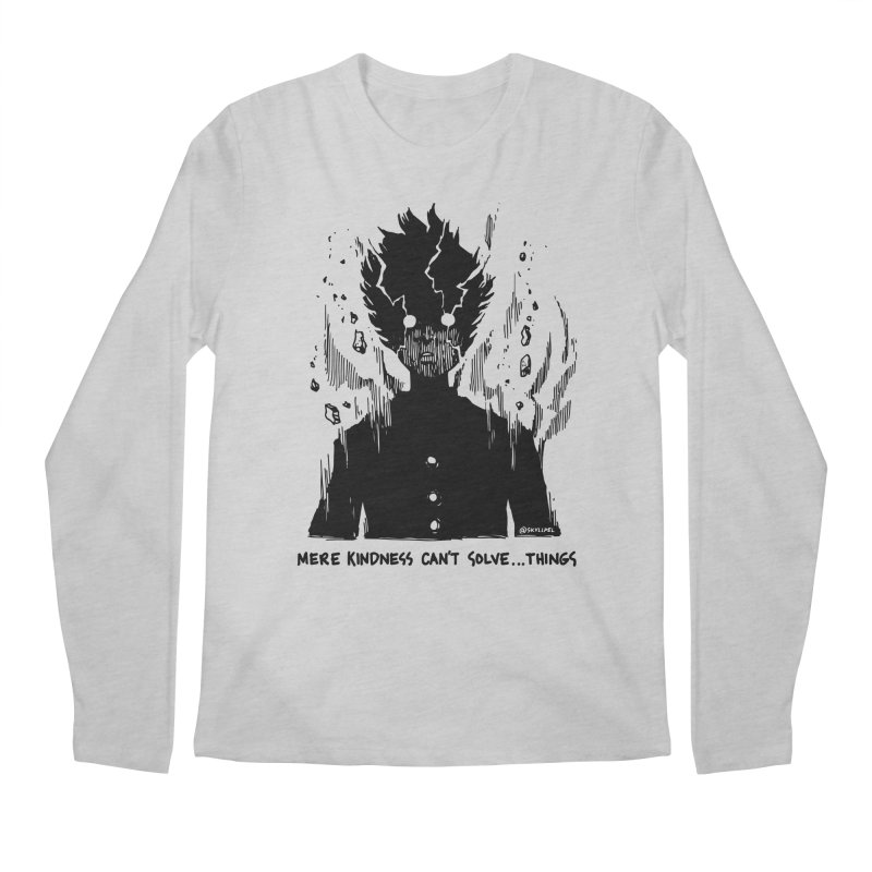 Level Frenzy: Mob Men's Regular Longsleeve T-Shirt by skullpel illustrations's Artist Shop