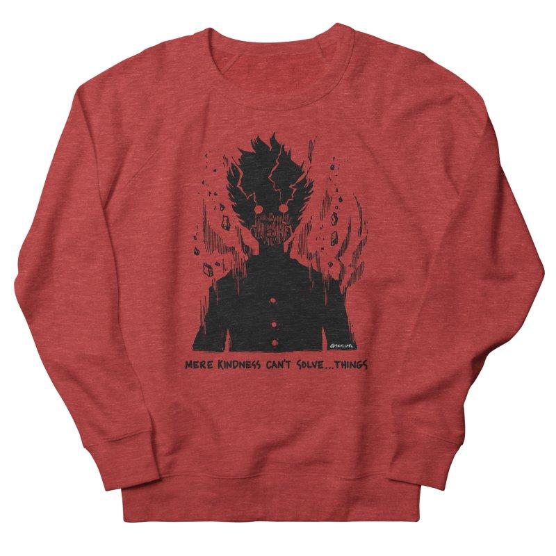 Level Frenzy: Mob Men's French Terry Sweatshirt by skullpel illustrations's Artist Shop