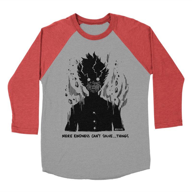 Level Frenzy: Mob Men's Baseball Triblend Longsleeve T-Shirt by skullpel illustrations's Artist Shop