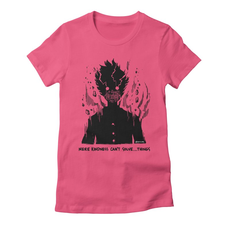 Level Frenzy: Mob Women's Fitted T-Shirt by skullpel illustrations's Artist Shop