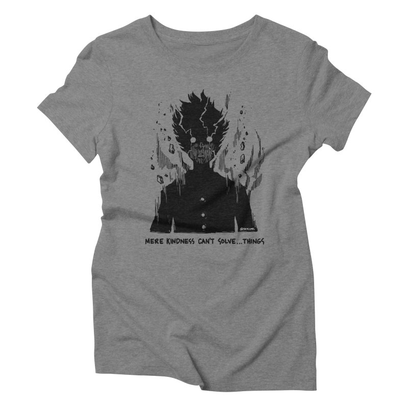 Level Frenzy: Mob Women's Triblend T-Shirt by skullpel illustrations's Artist Shop