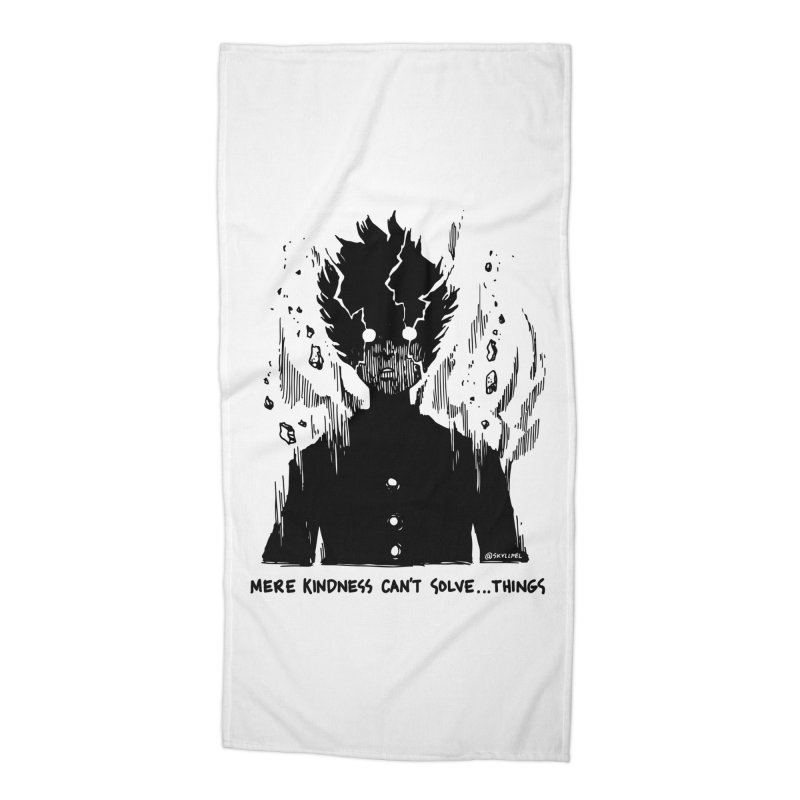 Level Frenzy: Mob Accessories Beach Towel by skullpel illustrations's Artist Shop