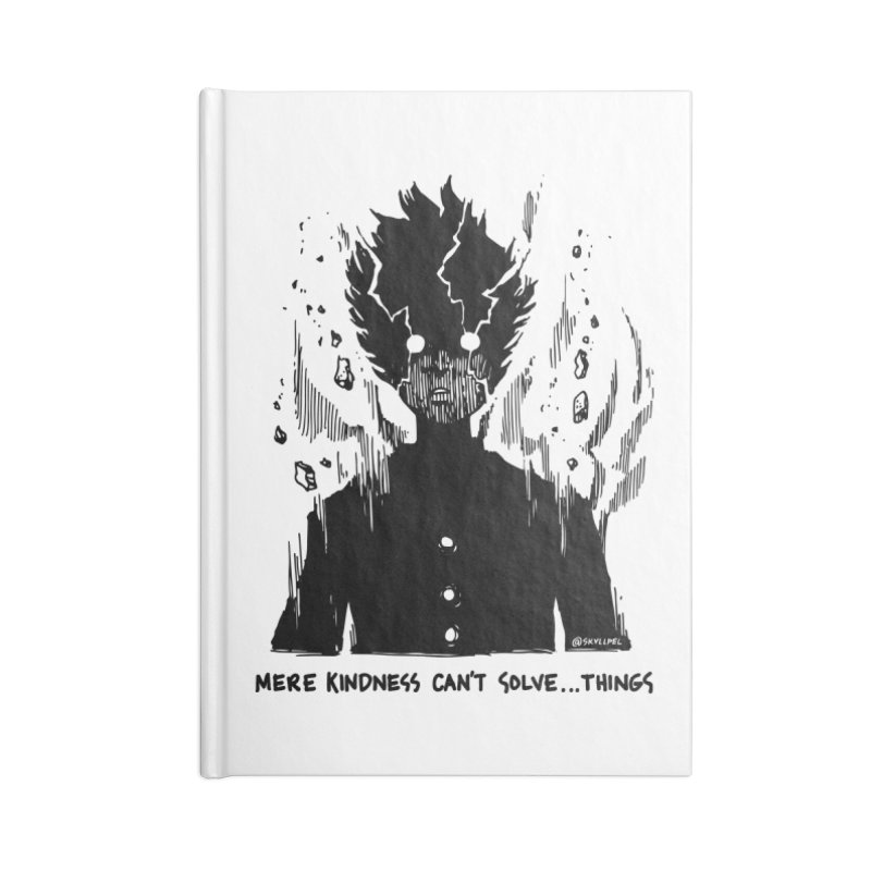 Level Frenzy: Mob Accessories Blank Journal Notebook by skullpel illustrations's Artist Shop