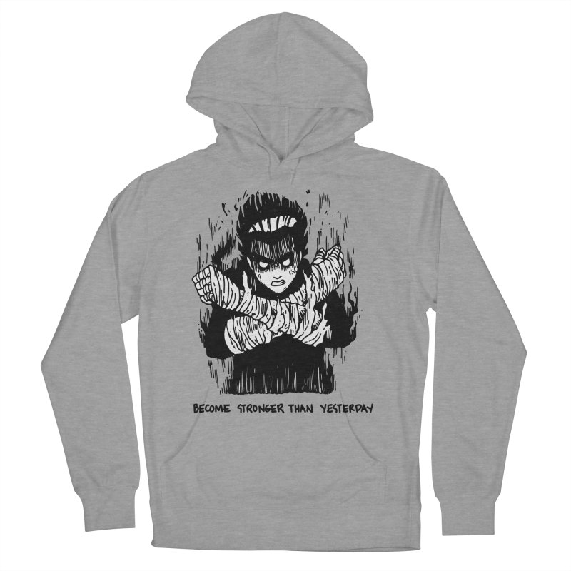Level Frenzy: 8th Gates Men's French Terry Pullover Hoody by skullpel illustrations's Artist Shop