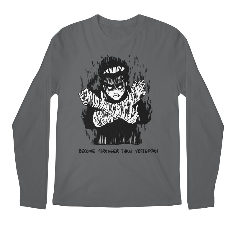Level Frenzy: 8th Gates Men's Regular Longsleeve T-Shirt by skullpel illustrations's Artist Shop