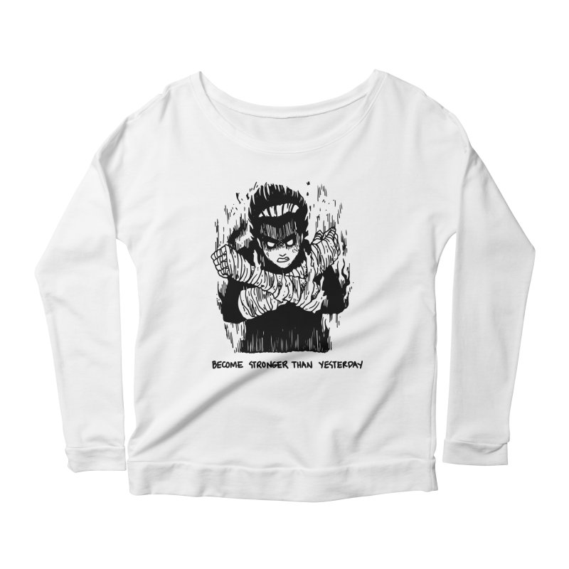 Level Frenzy: 8th Gates Women's Scoop Neck Longsleeve T-Shirt by skullpel illustrations's Artist Shop