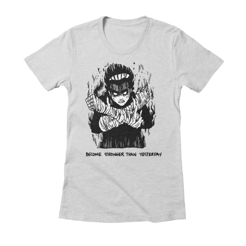 Level Frenzy: 8th Gates Women's Fitted T-Shirt by skullpel illustrations's Artist Shop