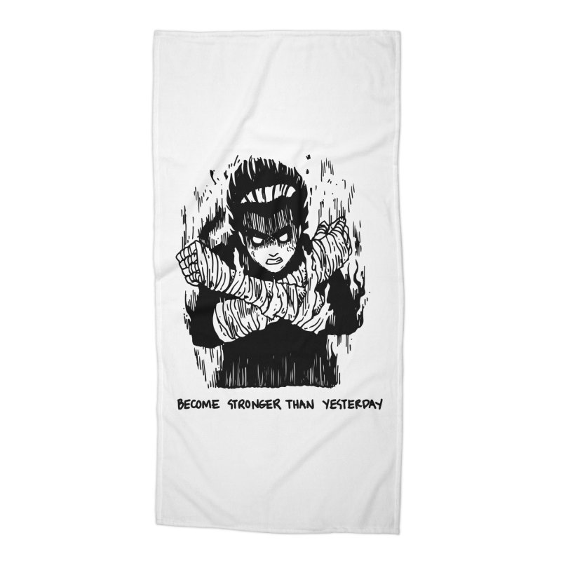 Level Frenzy: 8th Gates Accessories Beach Towel by skullpel illustrations's Artist Shop
