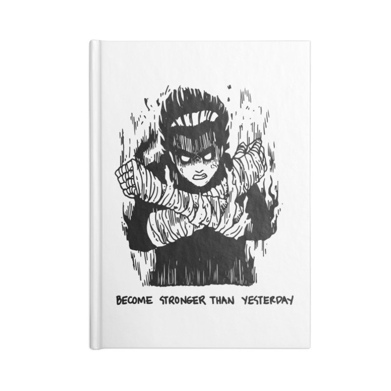 Level Frenzy: 8th Gates Accessories Blank Journal Notebook by skullpel illustrations's Artist Shop
