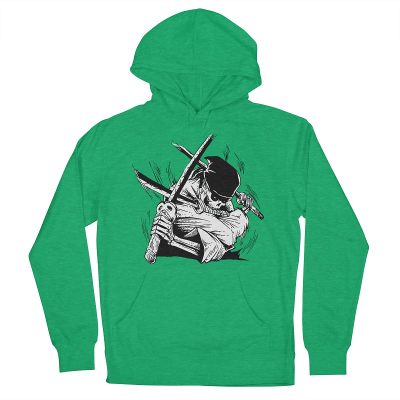 Bloodeh Samurai: Zoro Women's French Terry Pullover Hoody by skullpel illustrations's Artist Shop