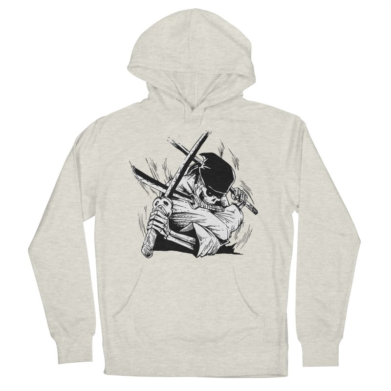 Bloodeh Samurai: Zoro Men's French Terry Pullover Hoody by skullpel illustrations's Artist Shop