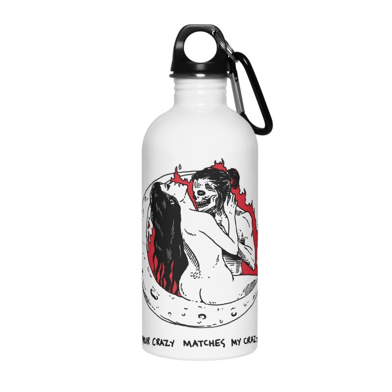 Crazy Level: Matched! Accessories Water Bottle by Skullpel Illustrations's Artist Shop