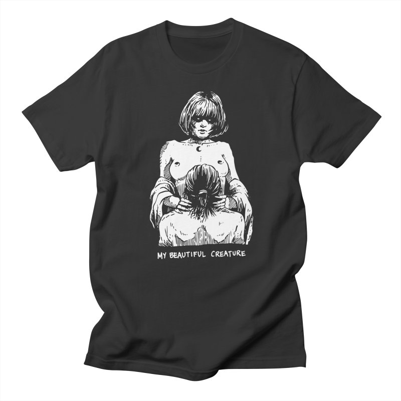 My Beautiful Creature Men's Regular T-Shirt by Skullpel Illustrations's Artist Shop