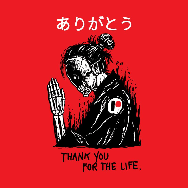 Thank You For The Life by Skullpel Illustrations's Artist Shop