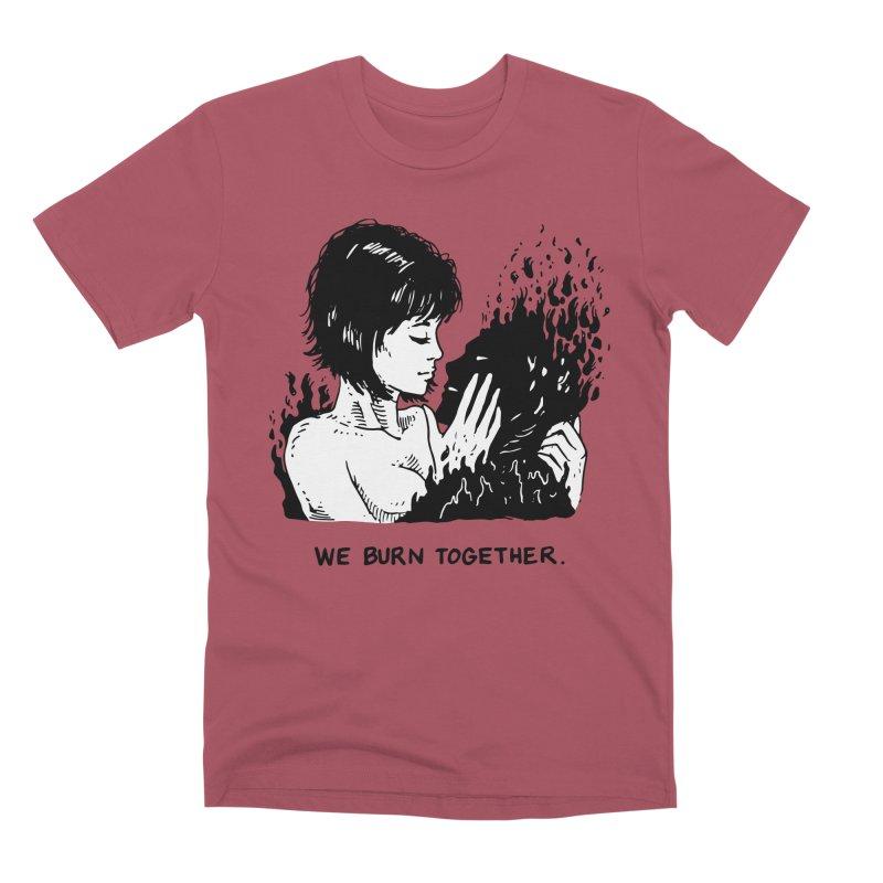 We Burn Together Men's Premium T-Shirt by Skullpel Illustrations's Artist Shop