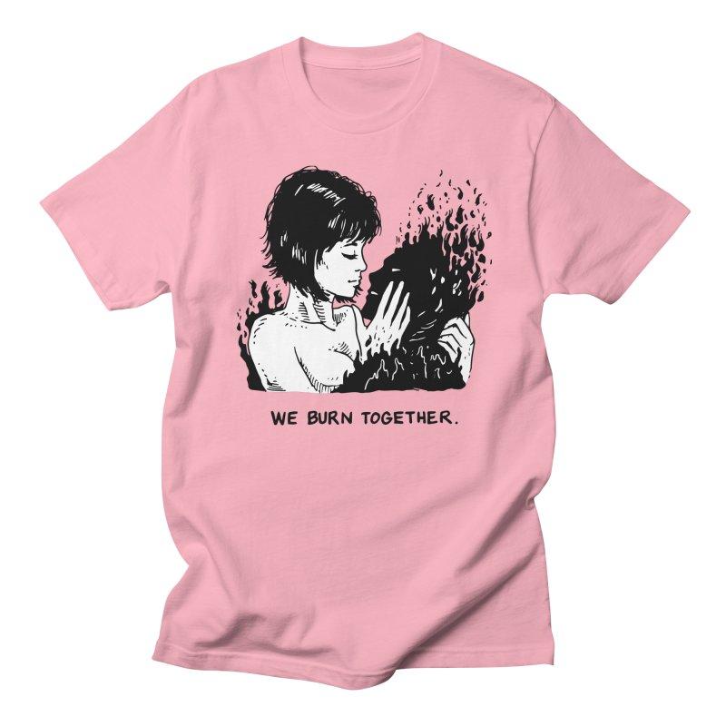 We Burn Together Men's Regular T-Shirt by Skullpel Illustrations's Artist Shop
