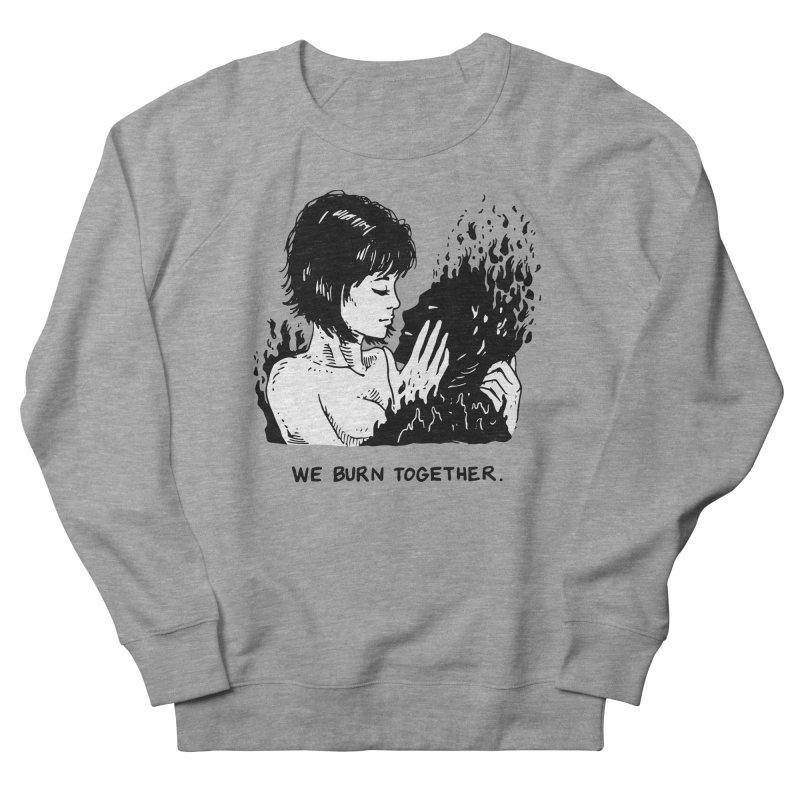 We Burn Together Men's French Terry Sweatshirt by Skullpel Illustrations's Artist Shop