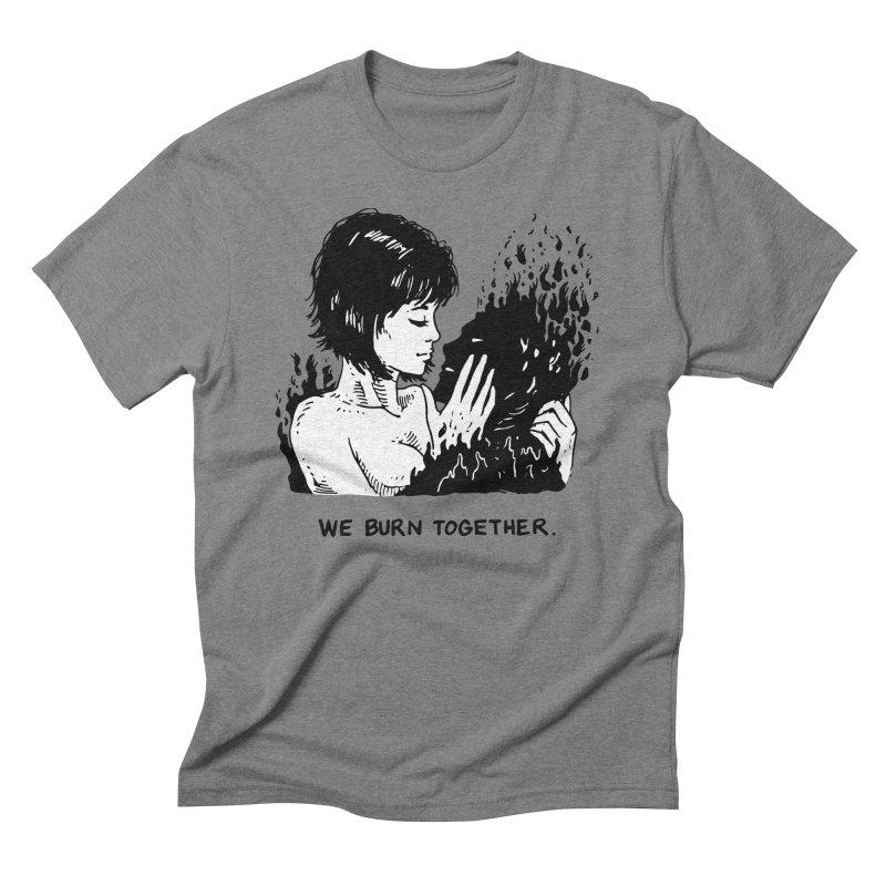 We Burn Together Men's Triblend T-Shirt by Skullpel Illustrations's Artist Shop