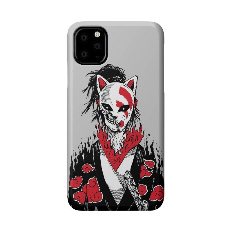 Broken Shinobi's Mask Accessories Phone Case by Skullpel Illustrations's Artist Shop