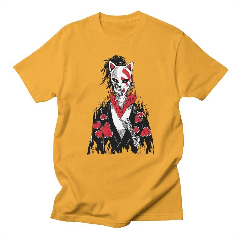 Broken Shinobi's Mask Men's Regular T-Shirt by Skullpel Illustrations's Artist Shop