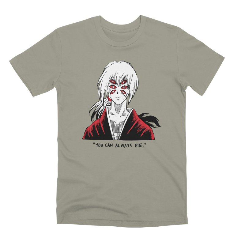 Animeta DNA Hybrid: Kenshin Kokushibou Men's Premium T-Shirt by Skullpel Illustrations's Artist Shop