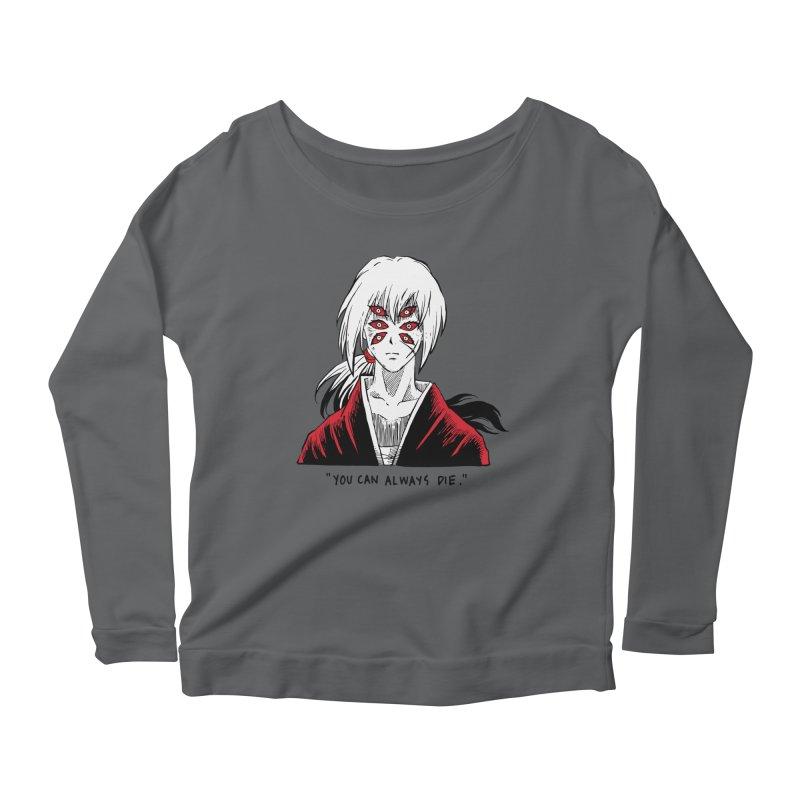 Animeta DNA Hybrid: Kenshin Kokushibou Women's Scoop Neck Longsleeve T-Shirt by Skullpel Illustrations's Artist Shop