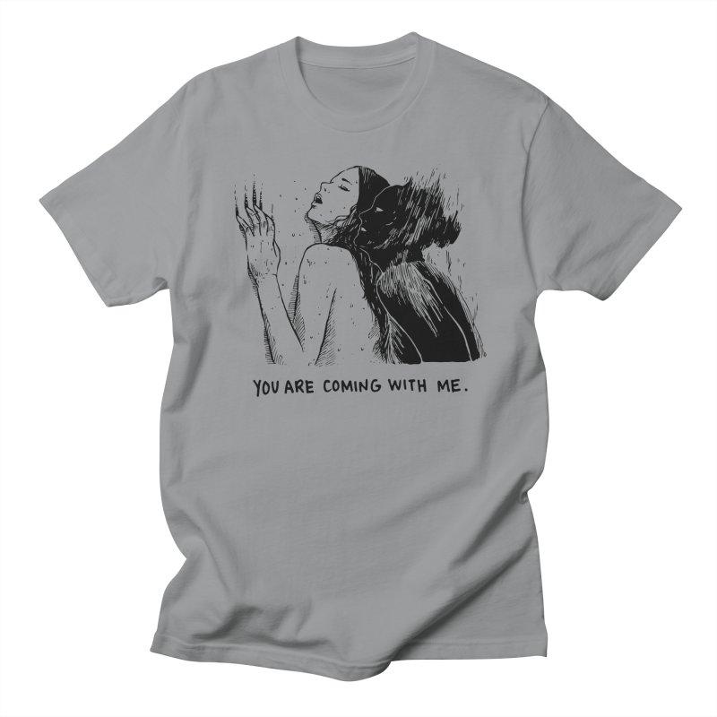 You, With Me. Men's Regular T-Shirt by Skullpel Illustrations's Artist Shop