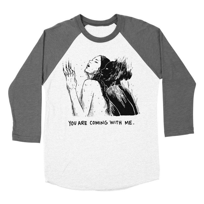You, With Me. Women's Baseball Triblend Longsleeve T-Shirt by Skullpel Illustrations's Artist Shop