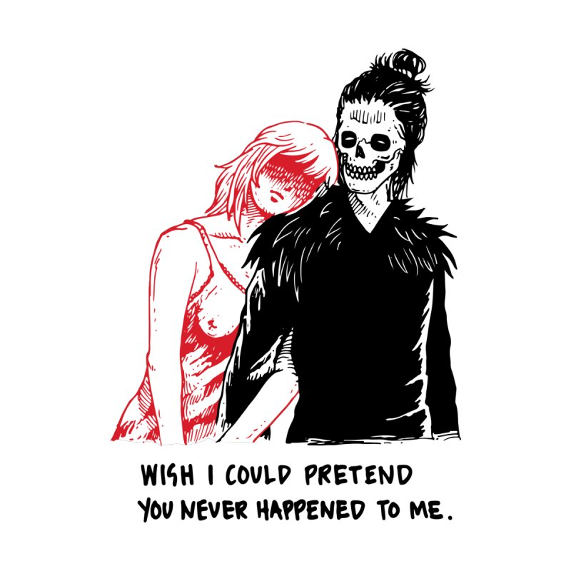 Wish I Could Pretend by Skullpel Illustrations's Artist Shop
