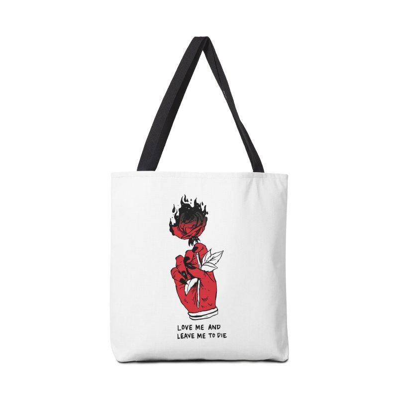 L**ve And L**ve Me To Die Accessories Tote Bag Bag by Skullpel Illustrations's Artist Shop
