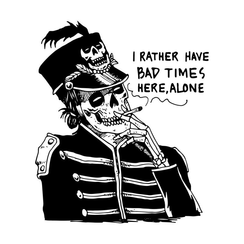 Ridin' Solo On Bad Times by Skullpel Illustrations's Artist Shop