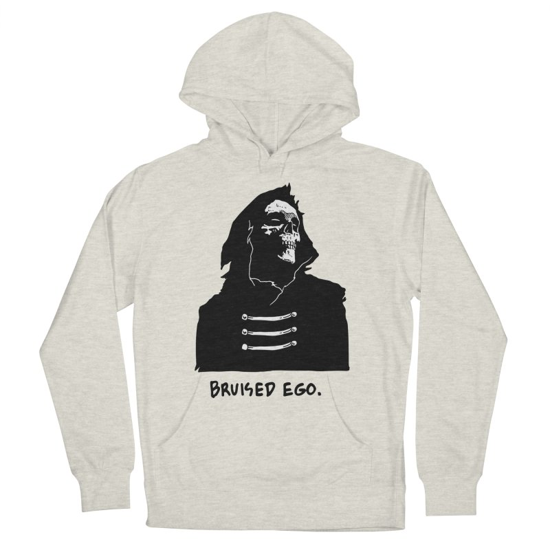 Bruised Ego Women's French Terry Pullover Hoody by Skullpel Illustrations's Artist Shop