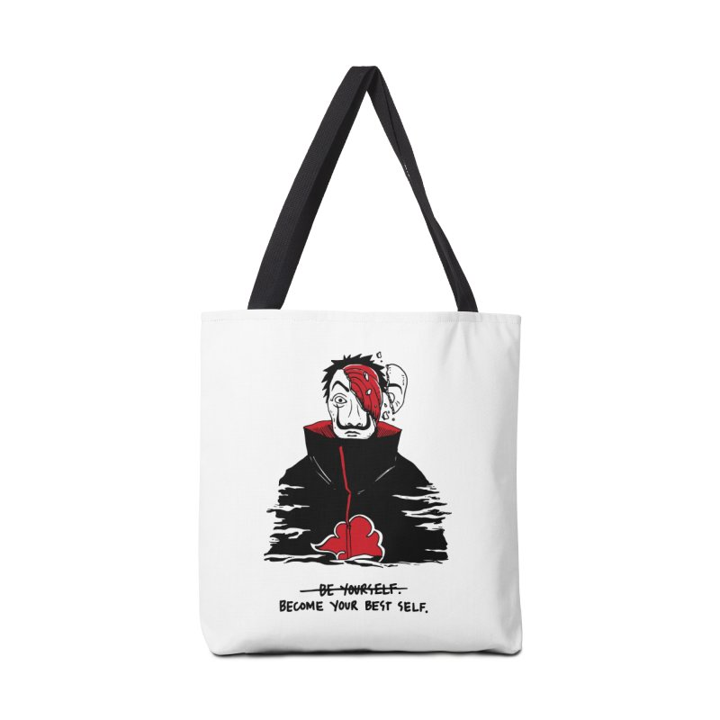 Become Your Better Self Accessories Tote Bag Bag by Skullpel Illustrations's Artist Shop