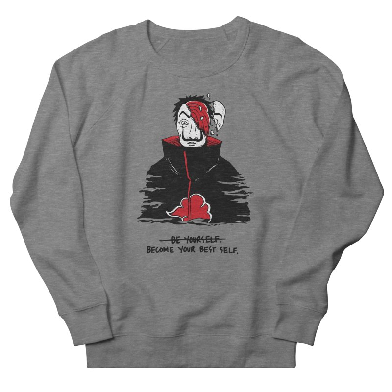 Become Your Better Self Women's French Terry Sweatshirt by Skullpel Illustrations's Artist Shop