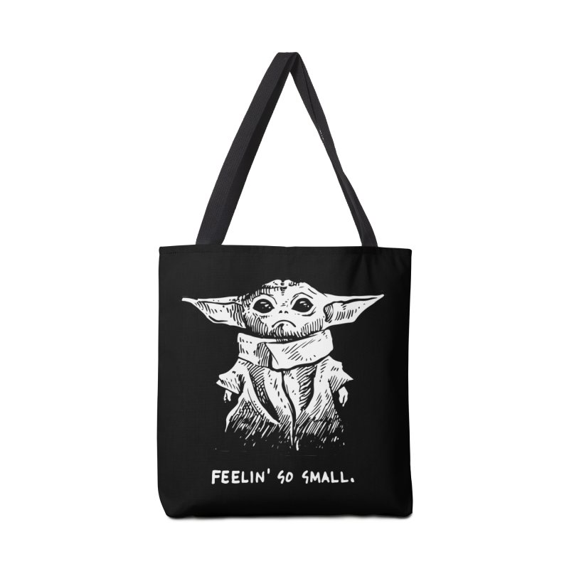 Feelin' Smol Accessories Tote Bag Bag by Skullpel Illustrations's Artist Shop