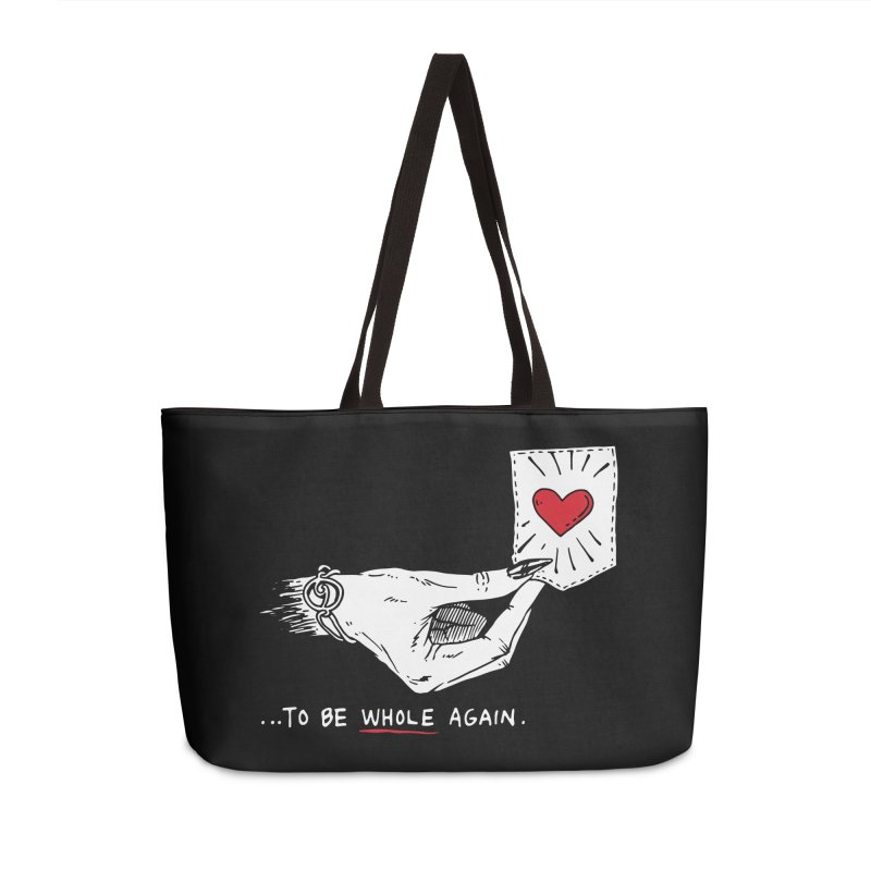 To Be Whole Again Accessories Weekender Bag Bag by Skullpel Illustrations's Artist Shop