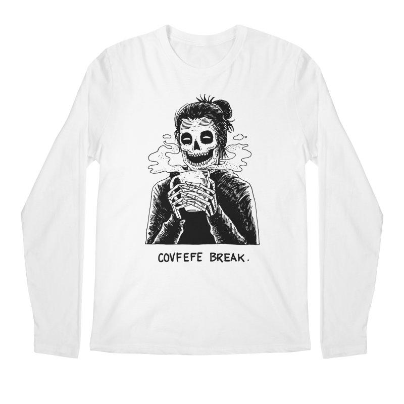Have Break, Have a Covfefe. Men's Regular Longsleeve T-Shirt by skullpel illustrations's Artist Shop