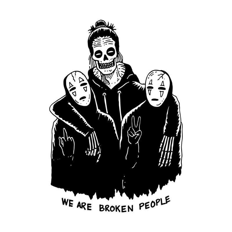 Broken People by skullpelillustrations's Artist Shop