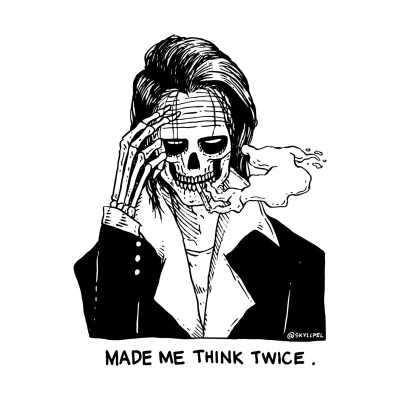 You Made Me Think Twice by skullpelillustrations's Artist Shop