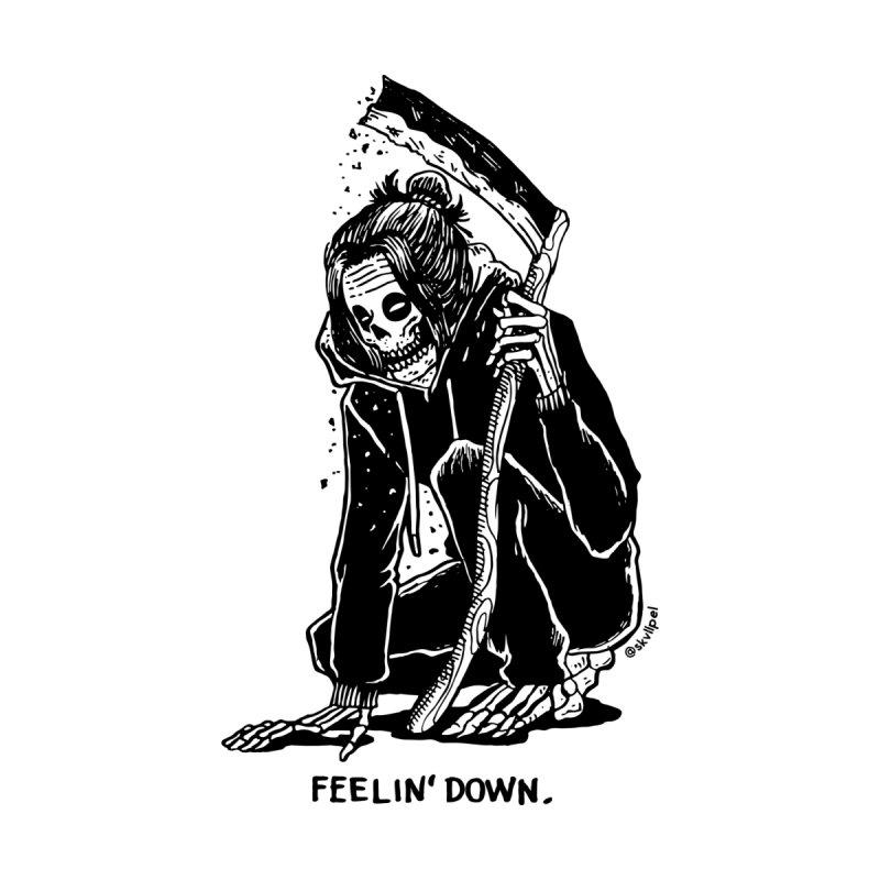 Feelin' Down by skullpelillustrations's Artist Shop
