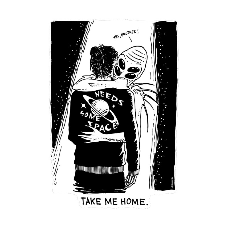 Take Me Home, Brother. by skullpelillustrations's Artist Shop